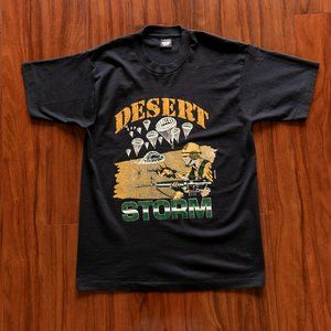 Vintage 1991 Desert Storm Single Stitch T-Shirt